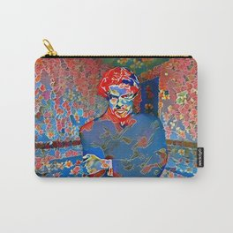 Portrait of A Young Immigrant Carry-All Pouch