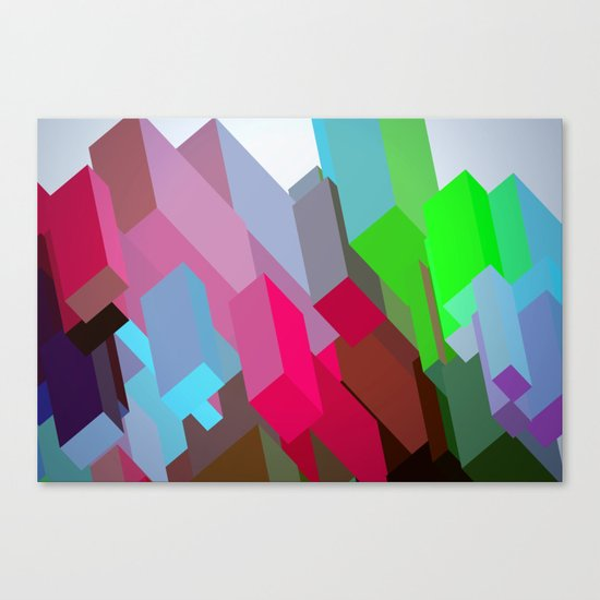 City 05. Canvas Print