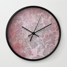 Damask Vintage Pattern 06 Wall Clock