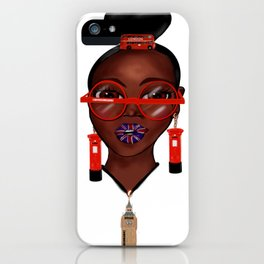 Love London iPhone Case