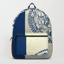 New York City flag - vintage  Backpack