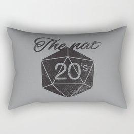 The Nat 20's Rectangular Pillow