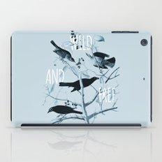 Wild and Free iPad Case
