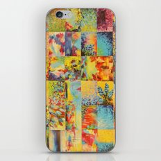 COLORFUL INDECISION 1 - Bold Bright Beautiful Abstract Acrylic Painting Collection Nature Rainbow iPhone Skin