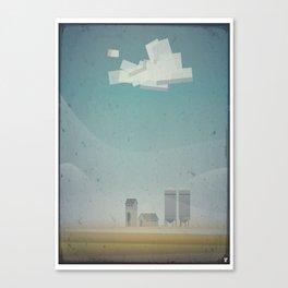 Farm times Canvas Print
