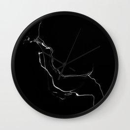 Nude/Akt Wall Clock