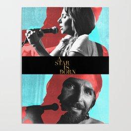 A Star Is Born - BradleyGaga. Poster