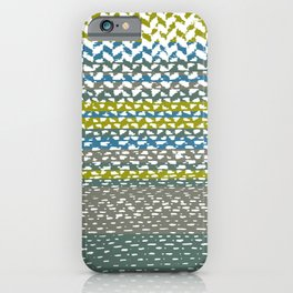 Stripes Zig Zag iPhone Case