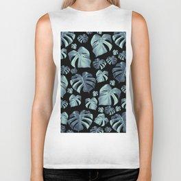 Tropical Monstera Pattern #5 #tropical #decor #art #society6 Biker Tank