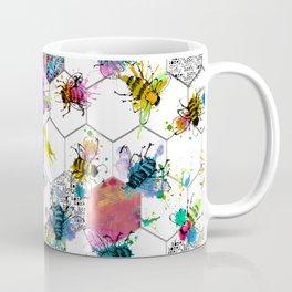 Bee Splat Coffee Mug