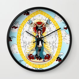 Holy Roller Derby Wall Clock