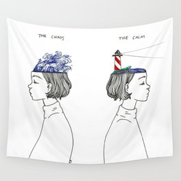 The Chaos and The Calm Wall Tapestry