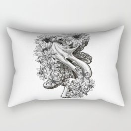 temporary design  octopus Rectangular Pillow