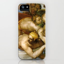 "Michelangelo ""The Last Judgment""(detail) iPhone Case"