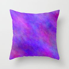 Blue Violet Color Throw Pillow