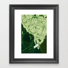 Hands down dopest dope I've ever smoked Framed Art Print