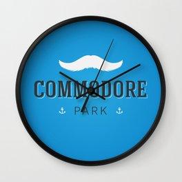 Commodore Park Wall Clock