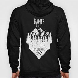 banff alberta explore more canada souvenir hipster hunt tshirt Hoody