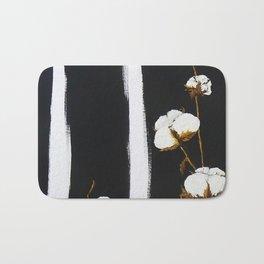 Cotton flowers Bath Mat