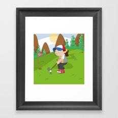 Non Olympic Sports: Golf Framed Art Print