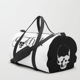 Gothik Skull logo Duffle Bag