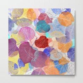 Leaf Mosaic 41 Metal Print
