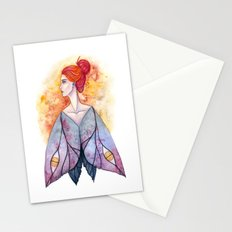 Moth wings Stationery Cards