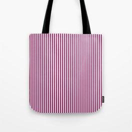 Festival Fuchsia Stripes Tote Bag
