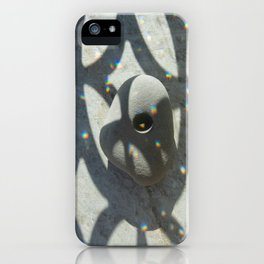 Goddess Stone And Crystal Rainbows  iPhone Case