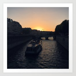 #ParisPostcards || Seine Art Print
