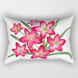 Rain Lilies Rectangular Pillow