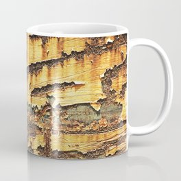 Rusted Metal rustic decor Coffee Mug