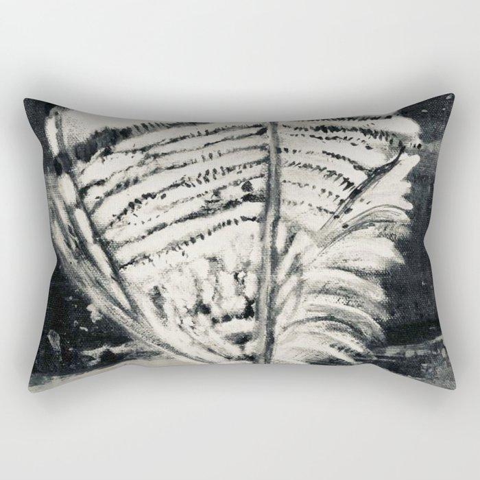 Wood Duck Feather Rectangular Pillow