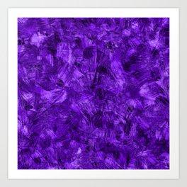 C13D Painterly Purple Art Print