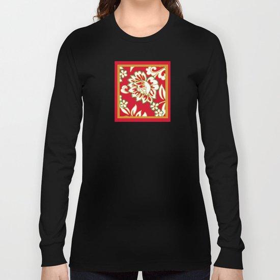 Tropical Eggnog Punch Long Sleeve T-shirt
