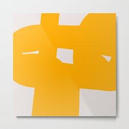 Abstract Form 6B Metal Print