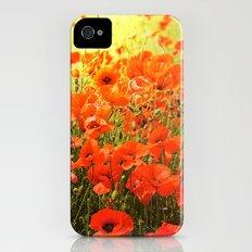 Field of poppies Slim Case iPhone (4, 4s)