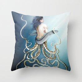 Sea Sisters - Callisto Throw Pillow