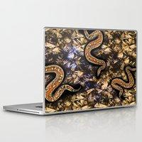 snake Laptop & iPad Skins featuring SNAKE by sametsevincer
