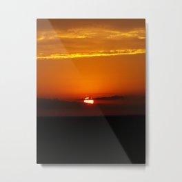 Oklahoma Sunrise Metal Print