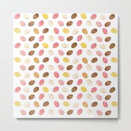 Love Donuts Metal Print