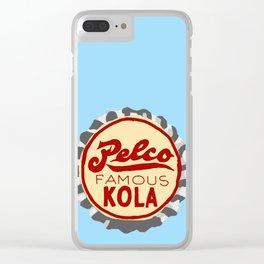 Pelco famous bottle cap lefty Clear iPhone Case
