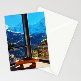Swiss Alps Looking Glass Stationery Cards