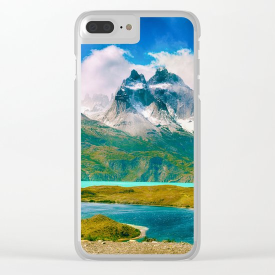 Earth, Water, Air Clear iPhone Case