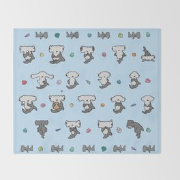 Hammerhead Sharks Throw Blanket