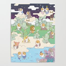 Bubu Horoscope Land Poster