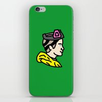 jesse pinkman iPhone & iPod Skins featuring Pinkman by MSTRMIND