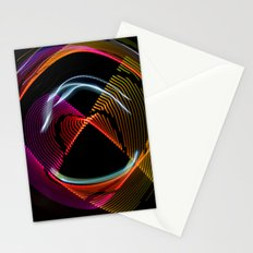 Experiments in Light Abstraction 1 Stationery Cards