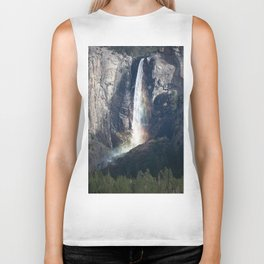 Bridalveil Falls, Yosemite California Biker Tank
