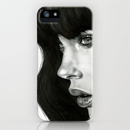 Girl iPhone Case